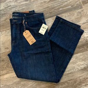 Men's dark wash lucky jeans